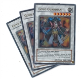 Yu-Gi-Oh the Duelist Genesis PLAYSET Goyo Guardian Ultra Rare X3 - NEAR MINT (NM)