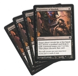 Magic the Gathering Rise of Eldrazi PLAYSET Inquisition of Kozilek FOIL X4 - NEAR MINT (NM)