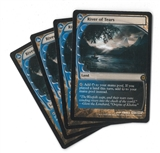 Magic the Gathering Future Sight PLAYSET River of Tears X4 - SLIGHT PLAY (SP)
