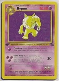 Pokemon Fossil 1st Edition Single Hypno 8/62 - MODERATE PLAY (MP)