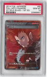 Pokemon Wild Blaze Single Lysandre 085/080 JAPANESE FULL ART - PSA 10 GEM MINT