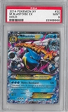 Pokemon X and Y Single M Blastoise EX 30/146 - PSA 9 *22969966*