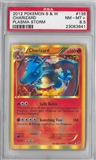 Pokemon Plasma Storm Single Charizard 136/135 PSA 8.5 *23083641*