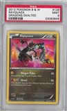 Pokemon Dragons Exalted Single Rayquaza 128/124 PSA 9 *23083649*