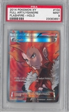 Pokemon XY Flashfire Single Lysandre 104/106 FULL ART - PSA 9 *23083651*