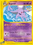 Pokemon Aquapolis Single Espeon 11 REVERSE FOIL - NEAR MINT (NM)