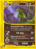 Pokemon Aquapolis Single Tyranitar 40 - NEAR MINT (NM)