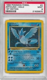 Pokemon Fossil 1st Edition Single Articuno 2/62 - PSA 9 - *21625670*
