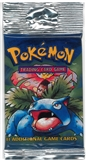 Pokemon Base Set 1 Longpack Booster Pack - Venusaur Art