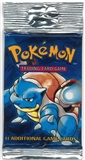 Pokemon Base Set 1 Longpack Booster Pack - Blastoise Art
