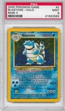 Pokemon Base Set 2 Single Blastoise 2/130 - PSA 9 - *21822563*