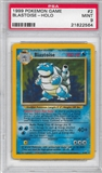 Pokemon Base Set 1 Single Blastoise 2/102 - PSA 9 - *21822564*