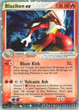 Pokemon Magma Vs. Aqua Single Blaziken EX 89 - NEAR MINT (NM)
