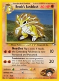 Pokemon Gym Heroes 1st Edition Single Brock's Sandslash 23/132 - SLIGHT PLAY (SP)