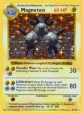 Pokemon Base Set 1 Single Magneton 9/102 - MODERATE PLAY (MP)