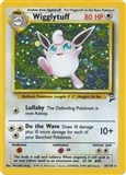 Pokemon Base Set 2 Single Wigglytuff 19/130 - NEAR MINT (NM)