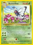 Pokemon Legendary Collection Single Butterfree Reverse FOIL 21/110 - SLIGHT PLAY (SP)