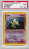 Pokemon Neo Revelations 1st Edition Single Celebi 3/64 - PSA 9 - *21624684*