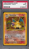 Pokemon Base Set 1 Single Charizard 4/102 - PSA 9 - *21625573*