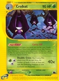 Pokemon Skyridge Single Crobat 6/144 Reverse Foil 6/144 - SLIGHT PLAY (SP)