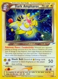 Pokemon Neo Destiny Single Dark Ampharos 1/105 - MODERATE PLAY (MP)