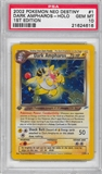 Pokemon Neo Destiny 1st Edition Single Dark Ampharos 1/105 - PSA 10 - *21624616*