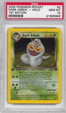 Pokemon Team Rocket 1st Edition Single Dark Arbok 2/82 - PSA 10 - *21625640*