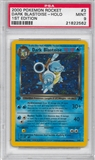 Pokemon Team Rocket 1st Edition Single Dark Blastoise 3/82 - PSA 9 - *21822562*