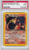Pokemon Team Rocket Single Dark Charizard 4/82 - PSA 9 - *21822566*