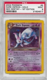 Pokemon Neo Destiny 1st Edition Single Dark Espeon 4/105 - PSA 9 - *21624617*