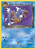 Pokemon Team Rocket 1st Edition Single Dark Gyarados 25/82 - HEAVY PLAY (HP)