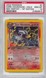 Pokemon Neo Destiny 1st Edition Single Dark Houndoom 7/105 - PSA 10 - *21624612*