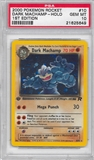 Pokemon Team Rocket 1st Edition Single Dark Machamp 10/82 - PSA 10 - *21625649*
