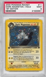Pokemon Team Rocket 1st Edition Single Dark Magneton 11/82 - PSA 9 - *21625651*