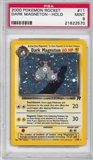 Pokemon Team Rocket Single Dark Magneton 11/82 - PSA 9 - *21822570*
