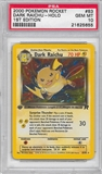 Pokemon Team Rocket 1st Edition Single Dark Raichu 83/82 - PSA 10 - *21625655*