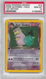 Pokemon Team Rocket 1st Edition Single Dark Slowbro 12/82 - PSA 10 - *21625652*