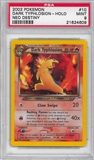 Pokemon Neo Destiny Single Dark Typhlosion 10/105 - PSA 9 - *21624609*
