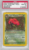 Pokemon Team Rocket 1st Edition Single Dark Vileplume 13/82 - PSA 10 - *21625653*