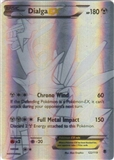 Pokemon XY Phantom Forces Single Dialga EX 122 - SLIGHT PLAY (SP)