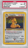 Pokemon Fossil 1st Edition Single Dragonite 4/62 - PSA 8 - *21625671*