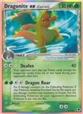 Pokemon EX Dragon Frontiers Single Dragonite EX 91/101 - SLIGHT PLAY (SP)