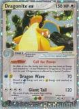Pokemon EX Dragon Single Dragonite EX 90/97 - SLIGHT PLAY (SP)