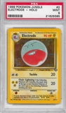 Pokemon Jungle Single Electrode 2/64 - PSA 9 - *21625585*