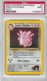 Pokemon Gym Heroes Single Erika's Clefable 3/132 - PSA 9 - *21822572*