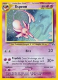 Pokemon Neo Discovery 1st Edition Single Espeon 1/75 - SLIGHT PLAY (SP)