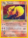 Pokemon Jungle Single Flareon 3/64 - MODERATE PLAY (MP)