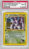 Pokemon Gym Challenge 1st Edition Single Giovanni's Nidoking 7/132 - PSA 10 - *21625590*
