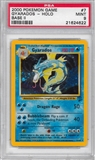 Pokemon Base Set 2 Single Gyarados 7/130 - PSA 9 - *21624622*