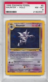 Pokemon Fossil Single Haunter 6/62 - PSA 8 - *21822551*
